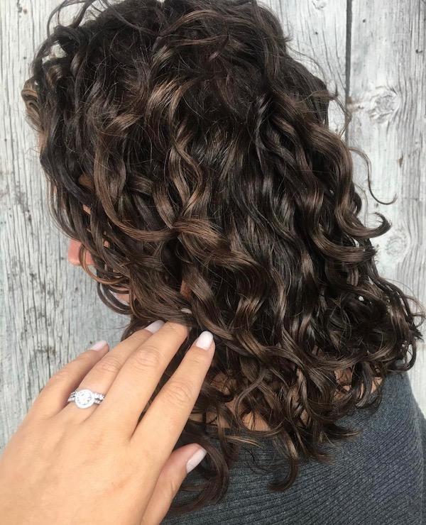 Ouidad curls hair cut