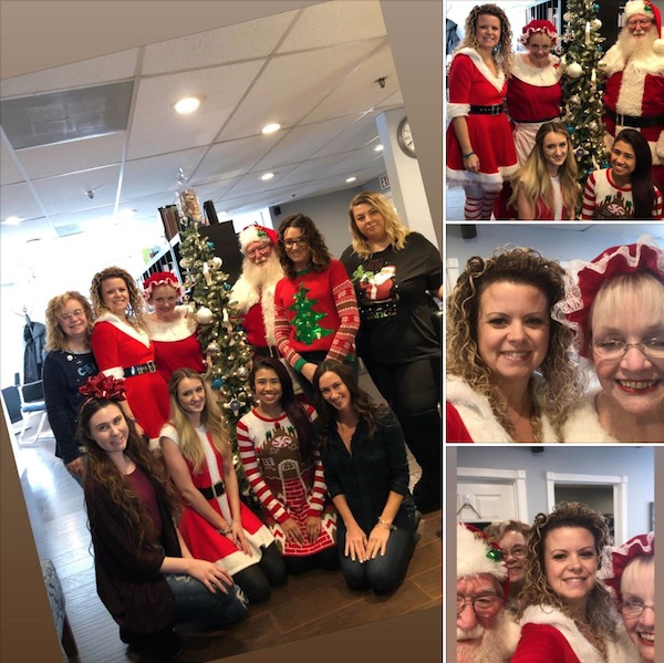 Christmas at Adored Salon